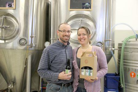 Brian & Karen Patton: Brewmasters of the Barfuss Brauerei