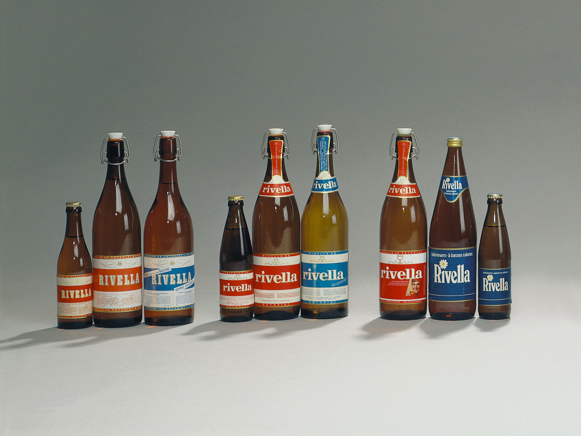 Swiss Rivella Brand from 1952-2000