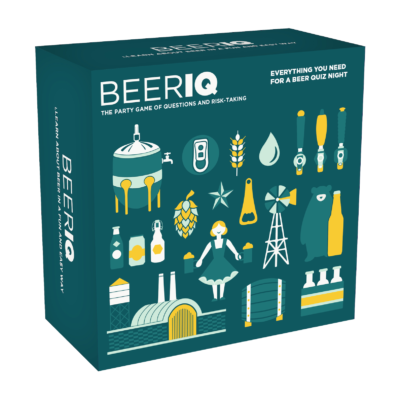 Test your beer IQ with the one and only game: BEERIQ