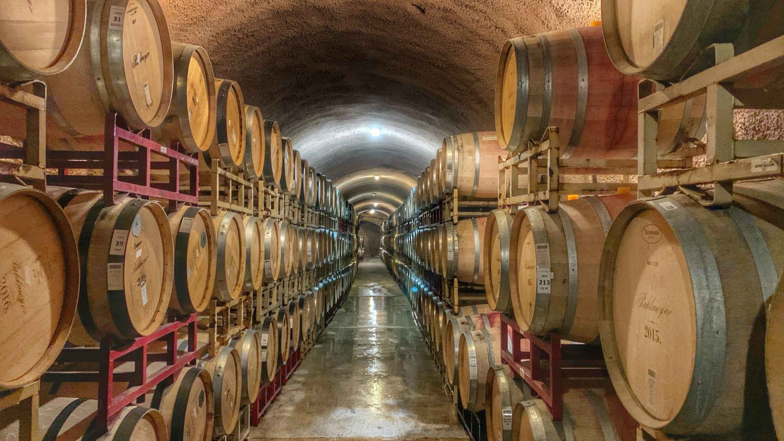 wine barrel lot