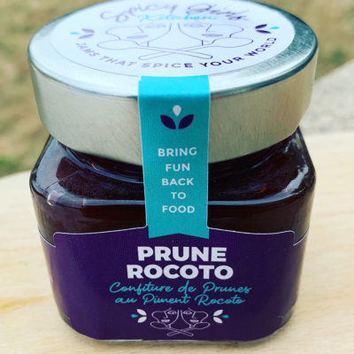 Spicy Girls Kitchen Prune Rocoto spicy jam