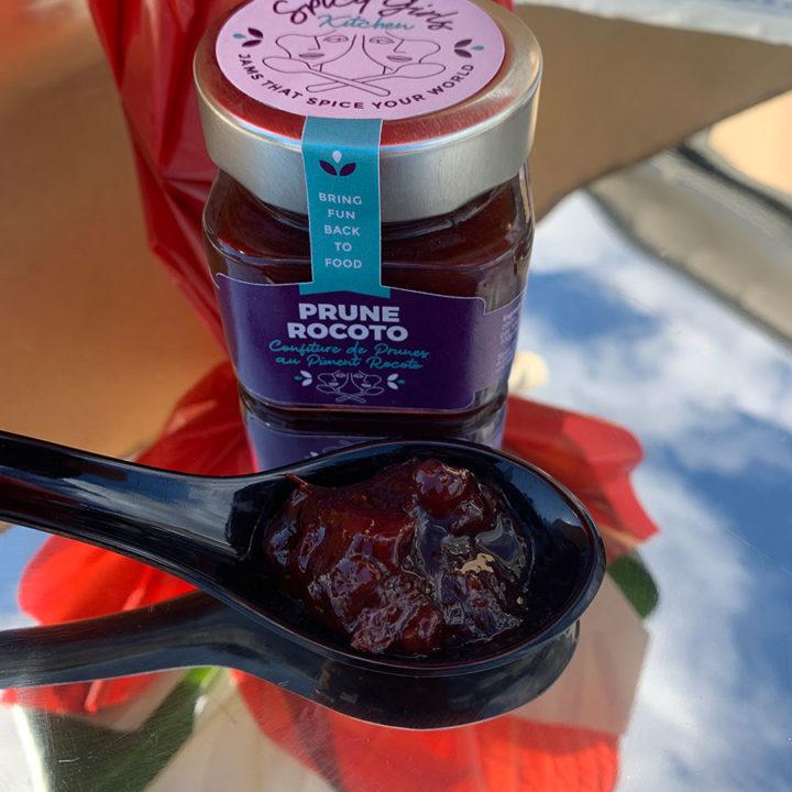 Prune rocoto spicy jam for apèro