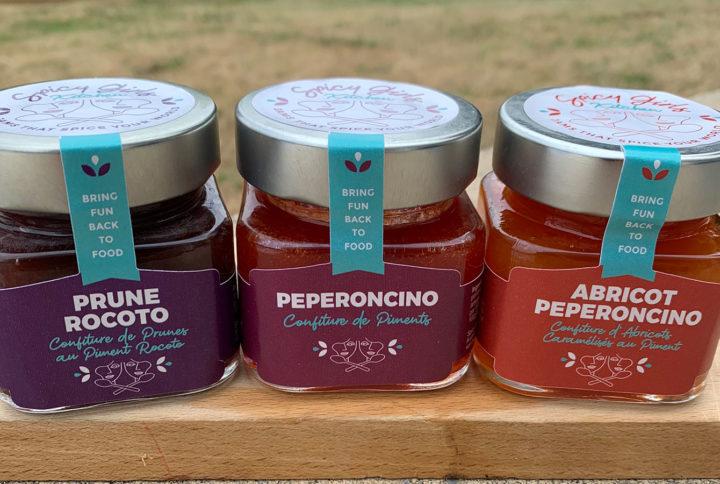 Spicy Girls Kitchen series of spicy jams