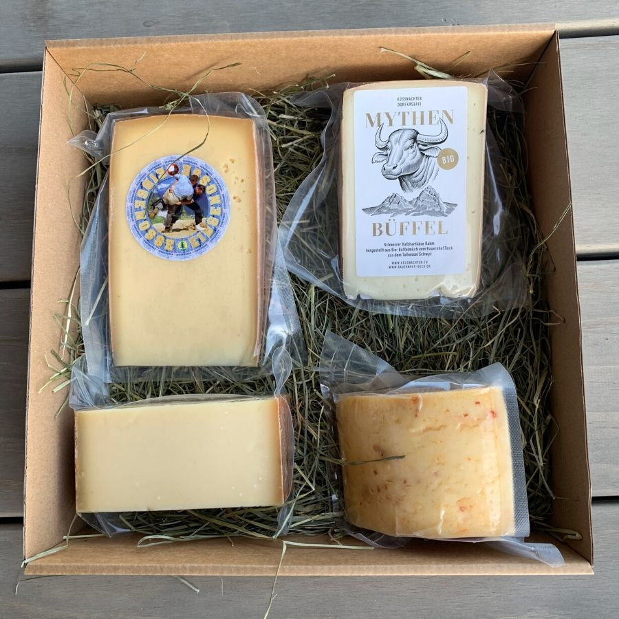 Swiss cheese subscription, club box: L'Atelier du Fromage