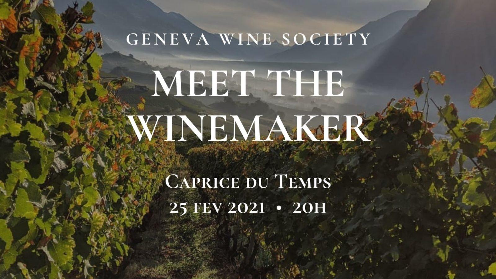 Geneva Wine Society. Meet the Winemaker series