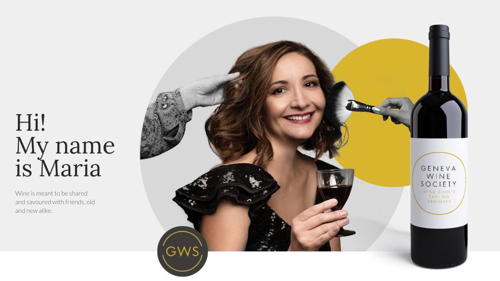 Maria & her Geneva Wine Society