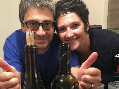 Jen's foodie friends in Bossonnens